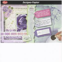 Designo Papier- Set 10 listů 30,5x30,5cm, 240g/m2 (F)