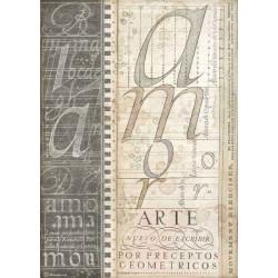 Papír rýžový A4 Calligraphy, umělecké písmo