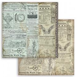 Sir Vagabond, cestovatel 30,5x30,5 scrapbook