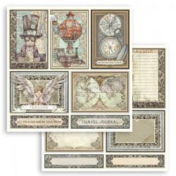 Sir Vagabond, kartičky 30,5x30,5 scrapbook