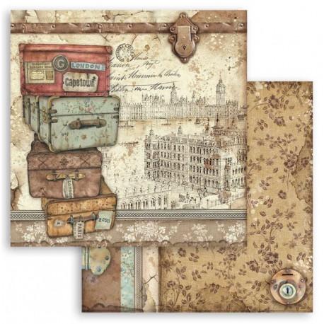Lady Vagabond, kufry 30,5x30,5 scrapbook