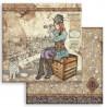 Lady Vagabond, kočka 30,5x30,5 scrapbook