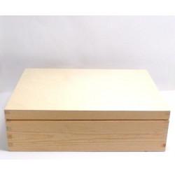 Krabice dřevěná 34 x 24,5 x 10 cm