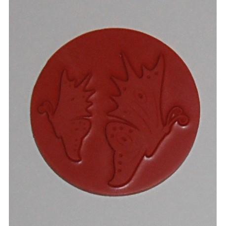 Reliéfní vložka gumová - vzor A kruh