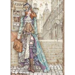 Papír rýžový A4 Lady Vagabond, tulačka
