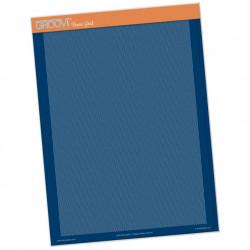 Akrylová deska A4 pro děrování, diagonál (Groovi)