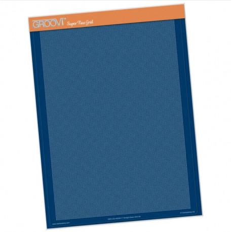 Akrylová deska A4 pro děrování, rovně (Groovi)
