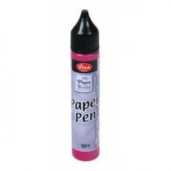 Paper Pen 25ml - magenta (F)