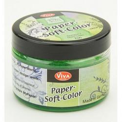 Paper Soft Color 75ml - trávová zelená (F)