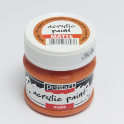 Akrylová barva Pentart 50ml - terakota, matná