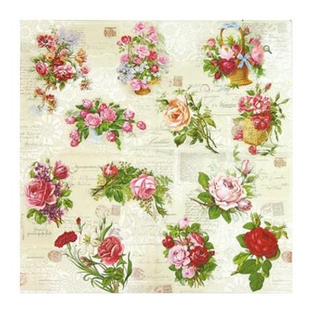 English Roses 33x33