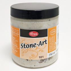 Kamenná barva Stone-Art bílá 250ml (F)