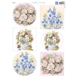 Papír A4 Mattie's Mooiste - Field flowers (MD)