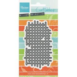 Vyřezávací šablona - Textura mřížka (MD)