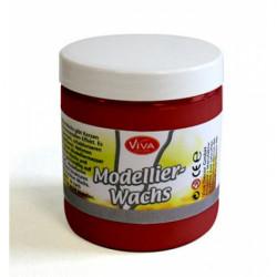 Modelovací vosk Tmavě červený 250ml (F)