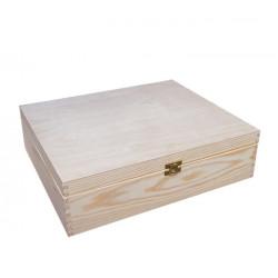 Krabička na dokumenty se zámečkem 34x25x10