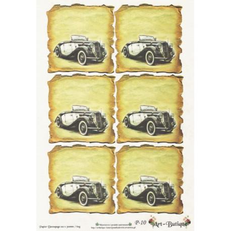 Papír A4 Starý automobil