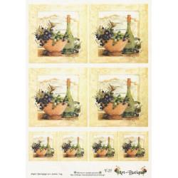 Papír A4 Zátiší s vínem