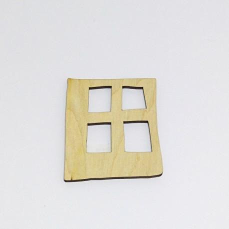 Dřevěné okénko 6x5,5cm