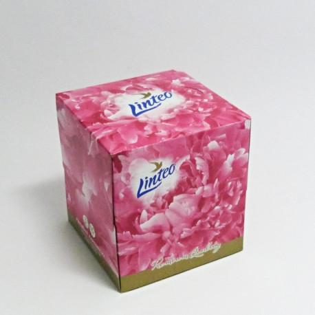 Kapesníčky papírové ve čtvercové krabičce (Linteo)