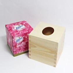Set krabičky čtvercové - typ 2 a kapesníčků v papírové krabičce