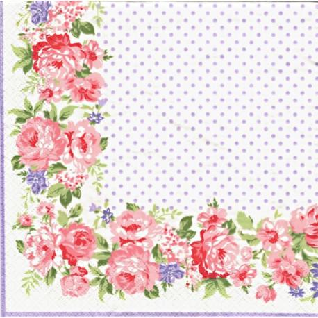 Rose White 33x33