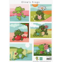 Papír A4 Eline's Frogs (MD)