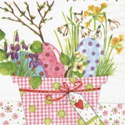 Velikonoční dekorace s vejci 33x33