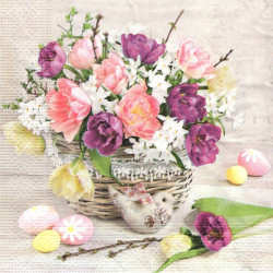 Jarní dekorace 33x33