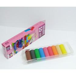 Modelovací hmota s antibakteriální úpravou 10 barev