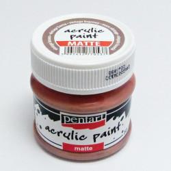 Akrylová barva Pentart 50ml - vintage hnědá, matná