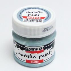 Akrylová barva Pentart 50ml - country modrá, matná