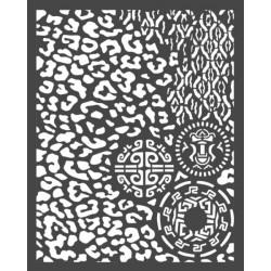 Šablona 3D 15x20 - Amazonia, vzory (KSTD062)