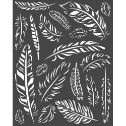 Šablona 3D 20x25 - Amazonia, pírka (KSTD066)