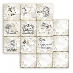 Journal,9 kartiček 30,5x30,5 scrapbook