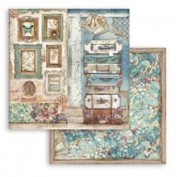 Atelier,kufry a rámy 30,5x30,5 scrapbook