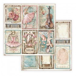 Passion, 6 kartiček 30,5x30,5 scrapbook