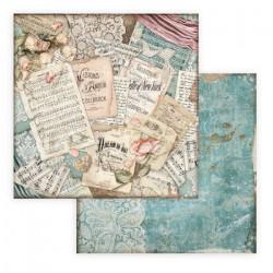 Passion, milostné dopisy 30,5x30,5 scrapbook