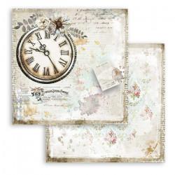 Journal, hodiny 30,5x30,5 scrapbook