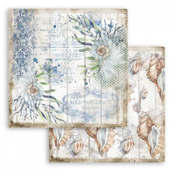 Sea Dreams, mušle 30,5x30,5 scrapbook
