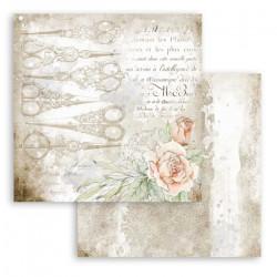 Threads, romantické pozadí 30,5x30,5 scrapbook