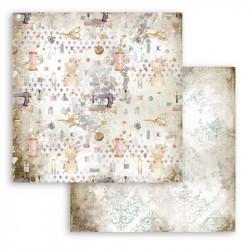 Threads, mix motivů 30,5x30,5 scrapbook