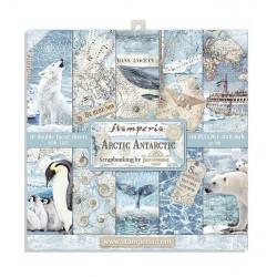 Sada papírů 20,3x20,3 190g Arctic Antarctic