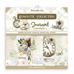 Sada papírů 20,3x20,3 190g Romantic Collection Journal