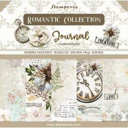 Sada papírů 30,5x30,5 190g Romantic Collection Journal
