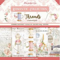 Sada papírů 30,5x30,5 190g Romantic Collection Threads