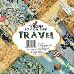 Sada papírů Travel 20x20 (Decorer)