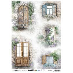 Papír rýžový A4 Doors & windows Time to Relax 2.0 nr.35 (SL)