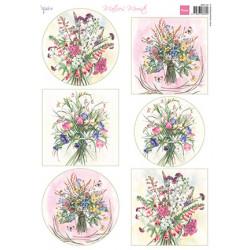 Papír A4 Mattie's Mooiste Field Bouquets (MD)