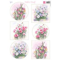Papír A4 Mattie's Mooiste Floral Spring (MD)